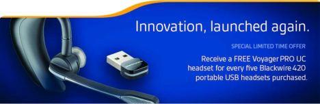Plantronics Voyager Pro UC Promotion