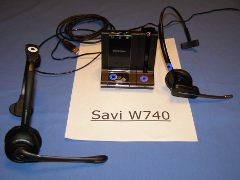 W710 Headset Conferenced to a W740 Host