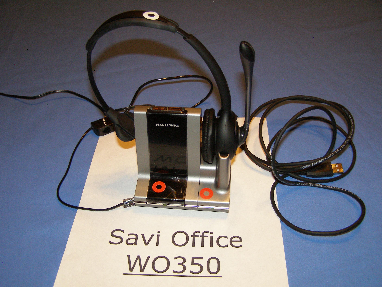 Plantronics Savi WO100 W0100 Replacement Headset WH110 82904-01