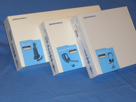 Plantronics Headsets Optimized for MS Lync