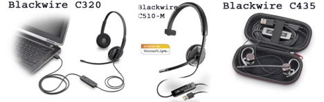 Corded VoIP Headsets